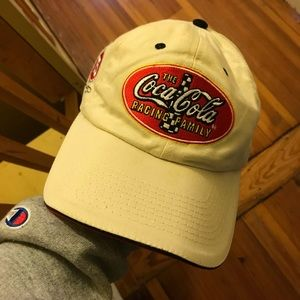 Vintage Coca Cola Racing Hat